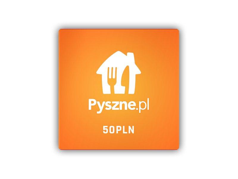 Pyszne.pl  Voucher 50 PLN