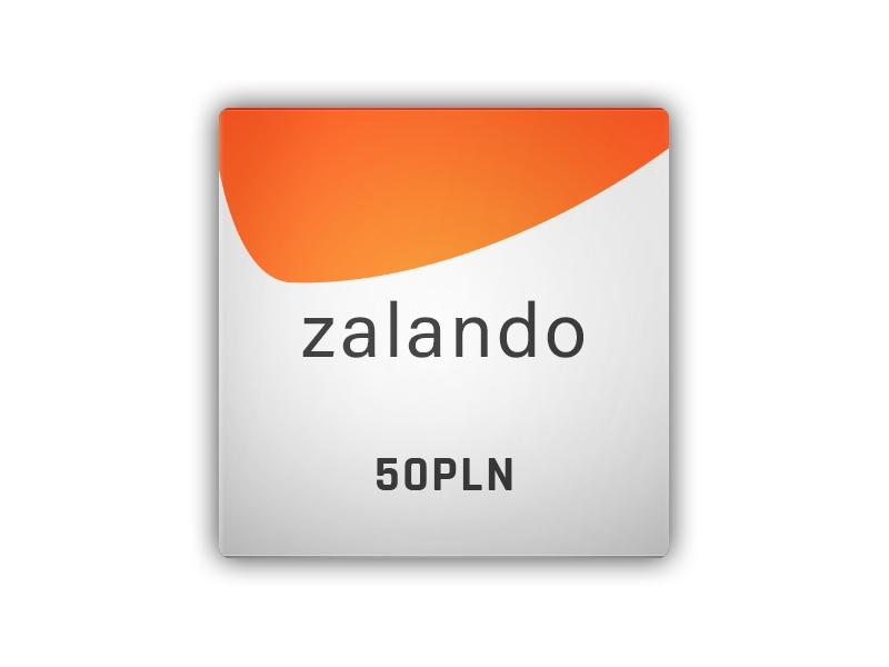 Zalando - gift card 50 PLN
