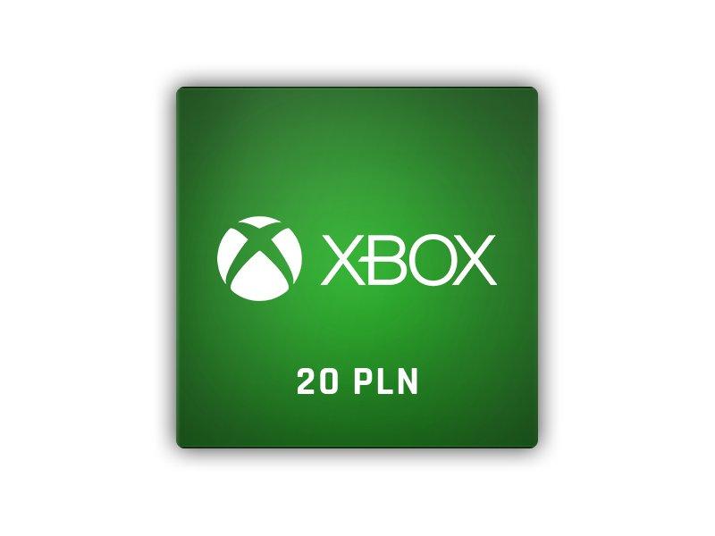 Xbox LIVE 20 PLN