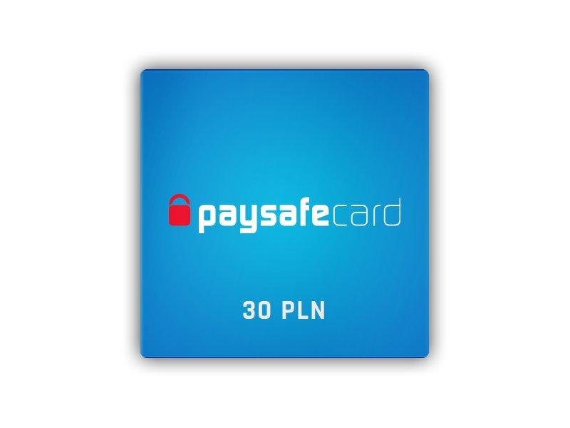 Paysafecard 30 PLN PSC