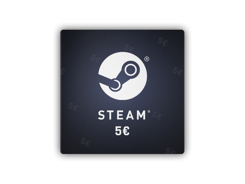 Steam Gift Card 5 EUR