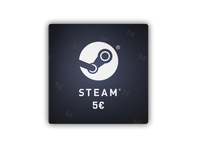 Steam 5 EUR - karta podarunkowa