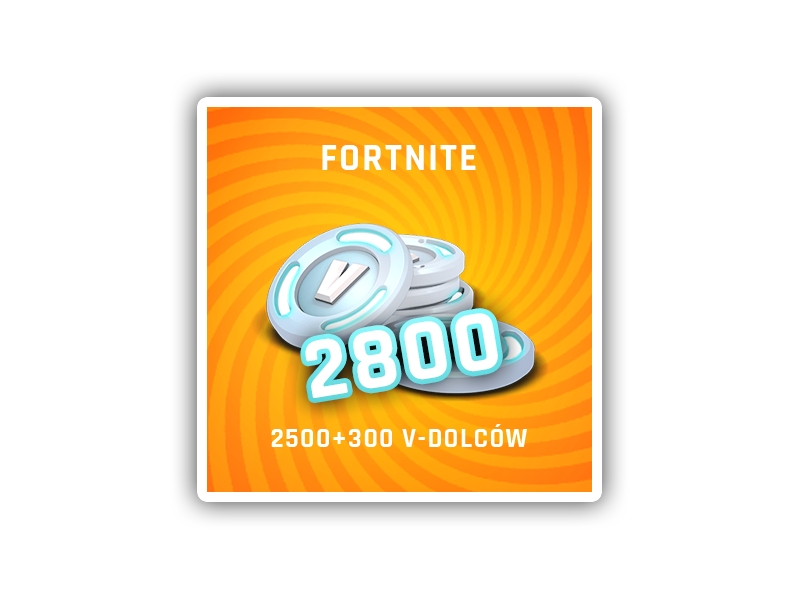 Fortnite V bucks 2800