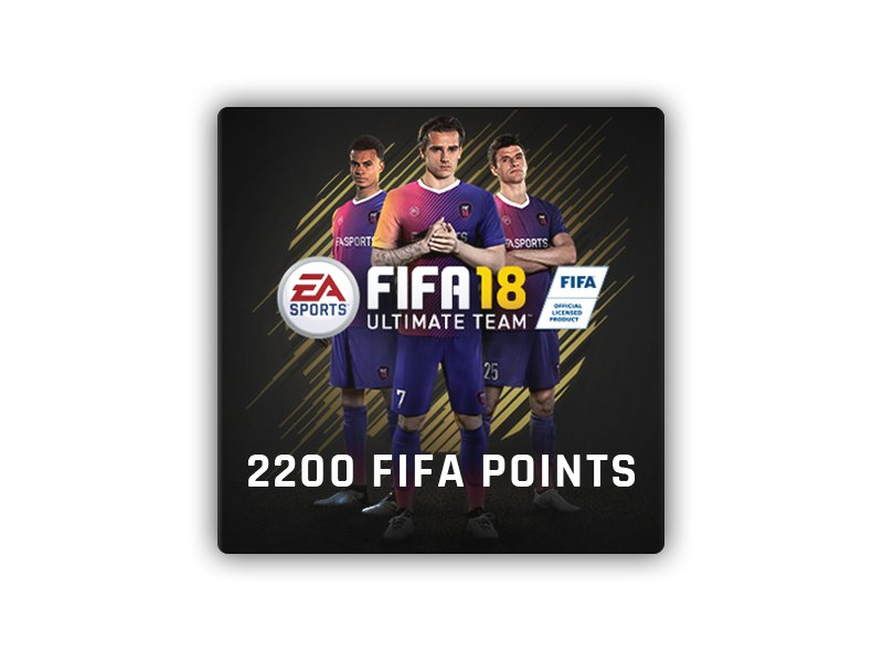 FIFA 18 - 2200 Points