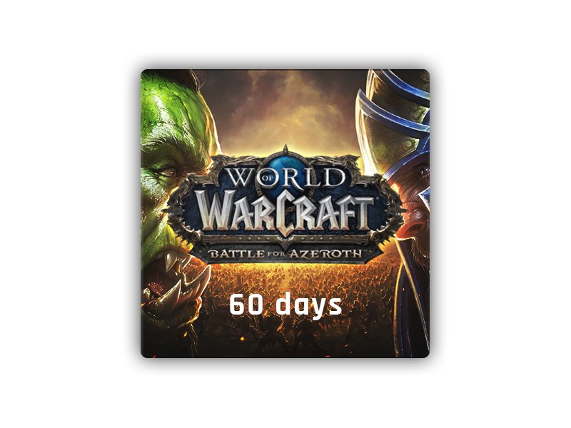World of Warcraft Time Card 60 Days EU