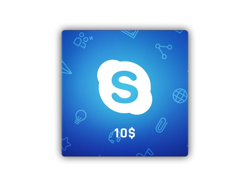 Skype  Gift Card 10 USD NORTH AMERICA