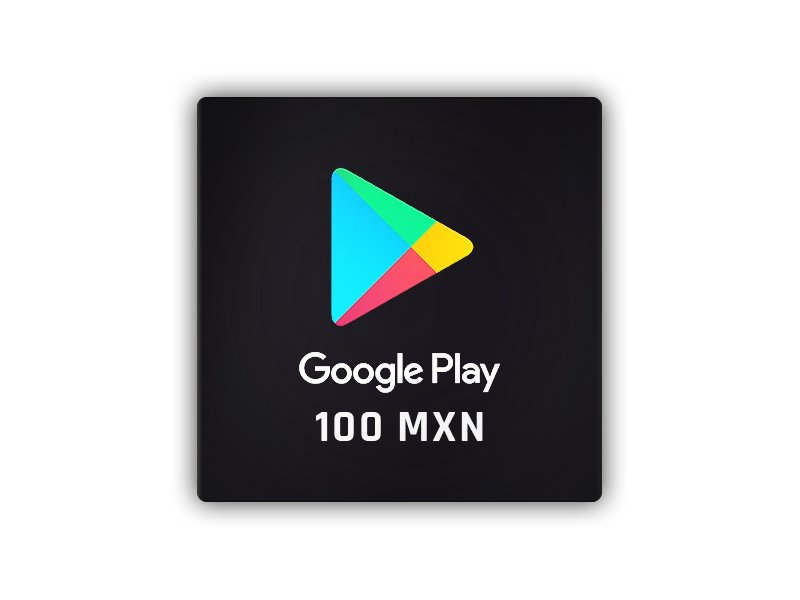 Google Play Gift Card 100 MXN