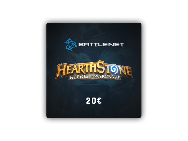 HearthStone Gift Card 20 €