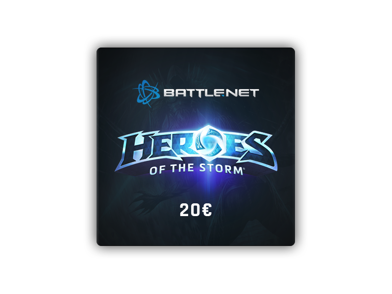 Heroes of the Storm Gift Card 20 €