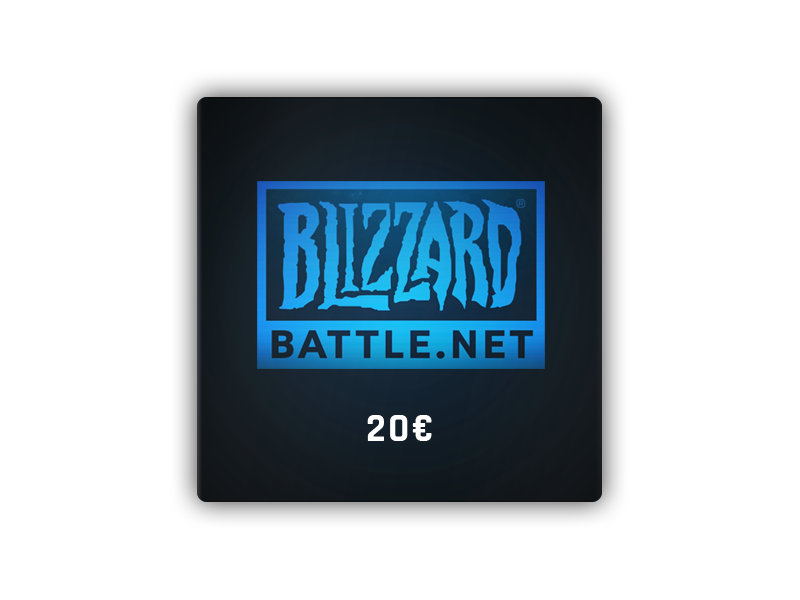 Battle.net Gift Card 20 €