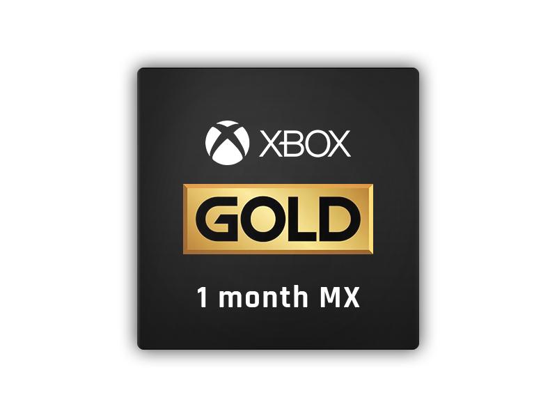 XBox Live Gold 1 Month Membership (MX)