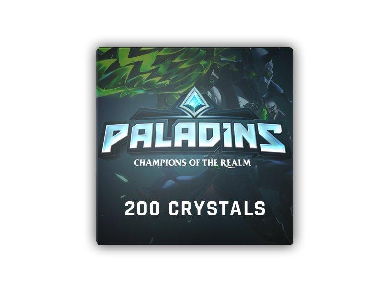 Paladins 200 Crystals