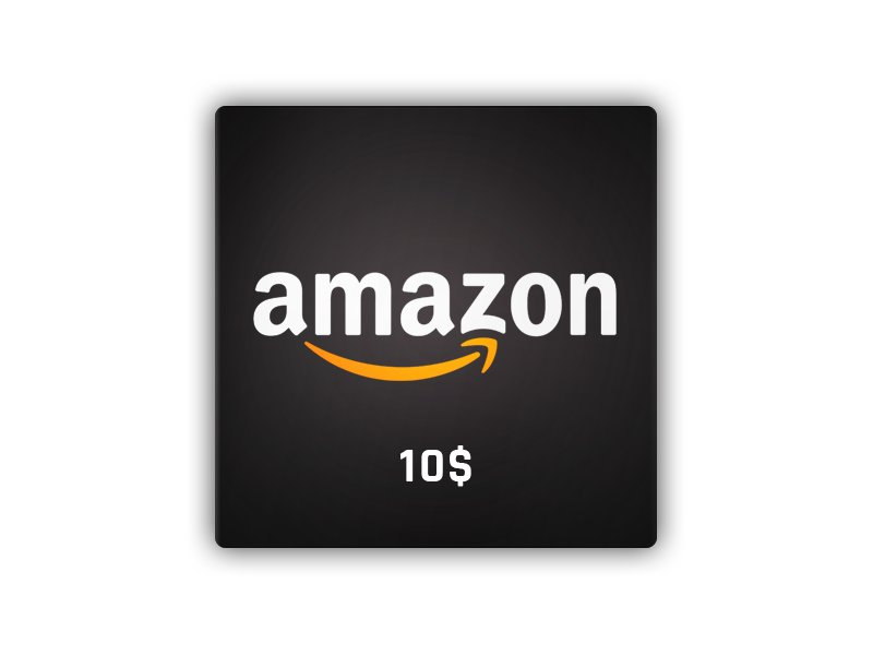Amazon Gift Card 10 USD NORTH AMERICA