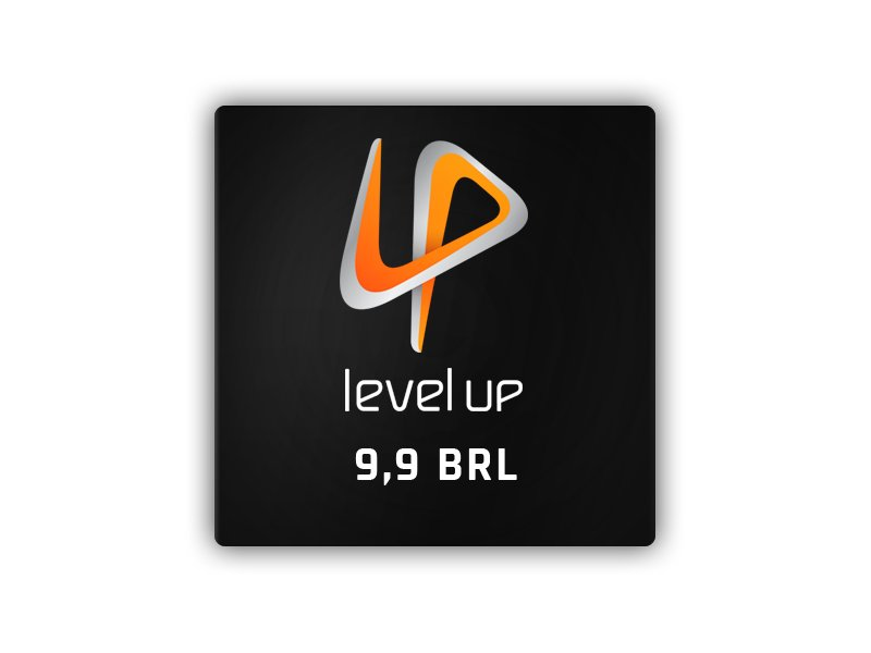 LEVEL UP! BRL9.90 GAME CARD