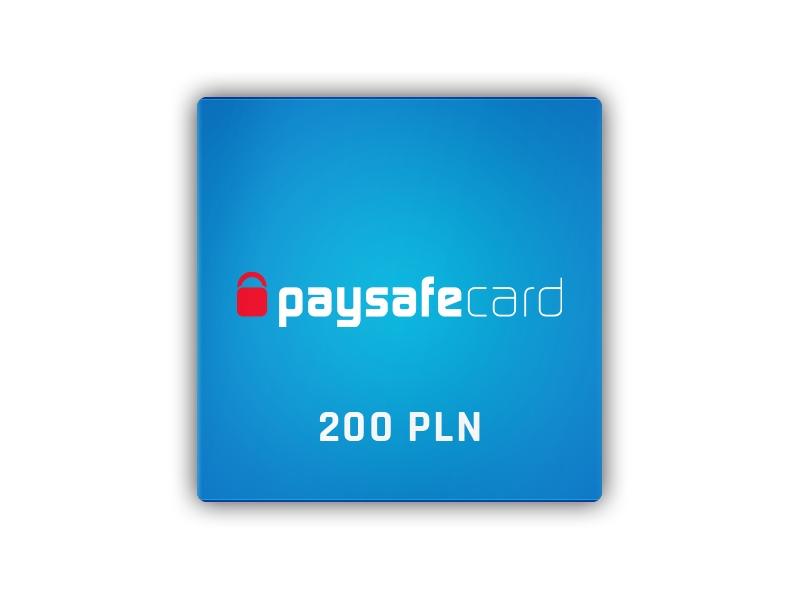 Paysafecard 200 PLN PSC