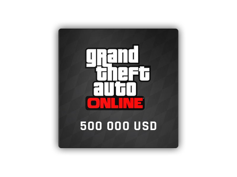 GTA ONLINE: Bull Shark Cash Card 500 000 USD