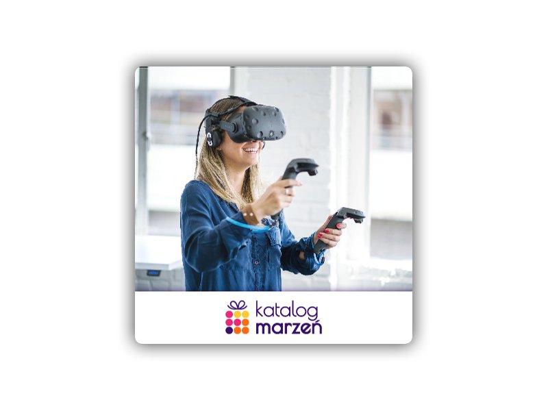 Wejdź w świat wirtualnej rzeczywistości | Katowice (60 min.)