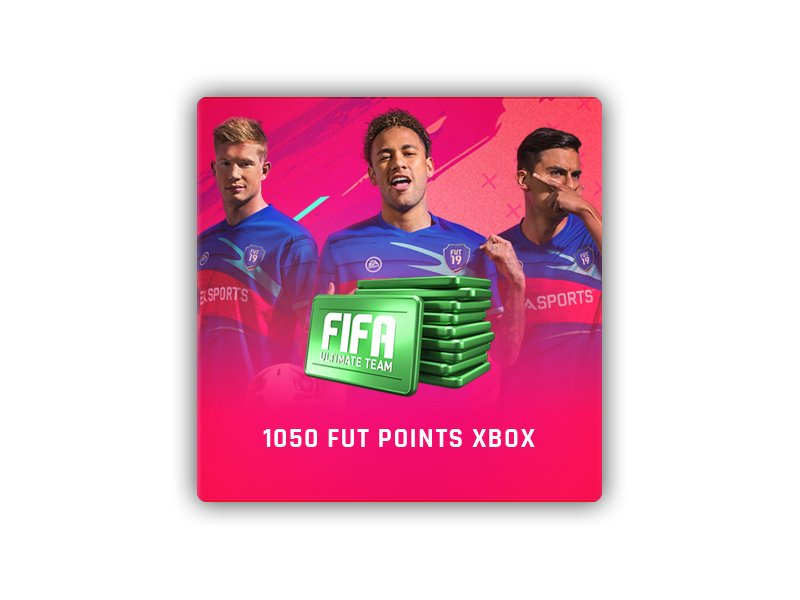 FIFA19 1050 FUT Points XBOX LIVE