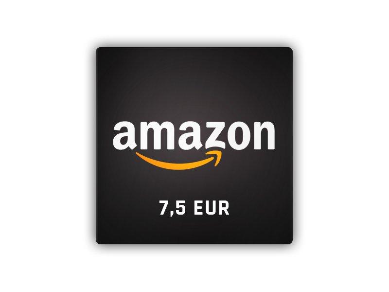 Amazon - gift card 7.5 EUR
