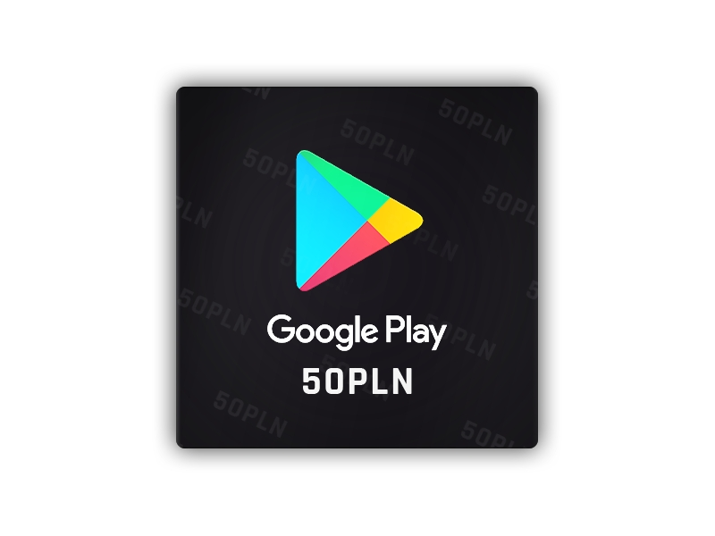 Google play - gift card 50 PLN