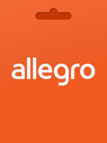 Allegro - karta podarunkowa 100 PLN