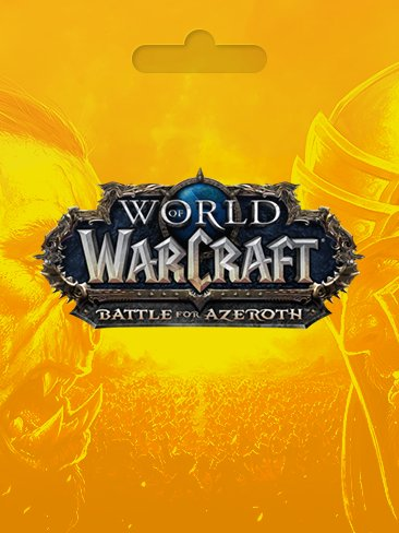 World of Warcraft Abonament 30 Dni EU