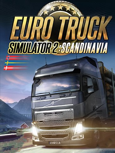 Euro Truck Simulator 2 ETS2 - Scandinavia