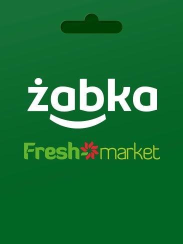 Żabka / Freshmarket - 50 PLN gift card