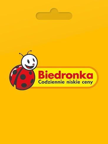 Biedronka - karta podarunkowa 10 PLN