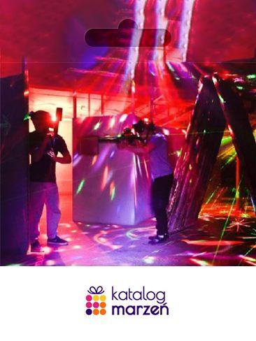 Paintball laserowy dla dwojga  Warszawa (60 minut)